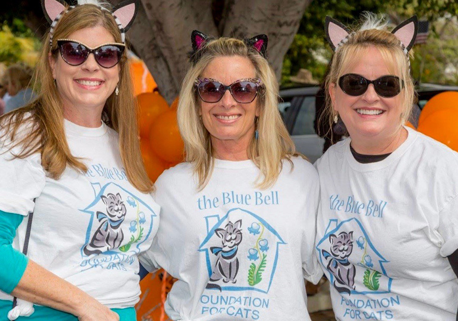 Blue Bell Volunteers at the recent Patriot's Day Parade in Laguna Beach